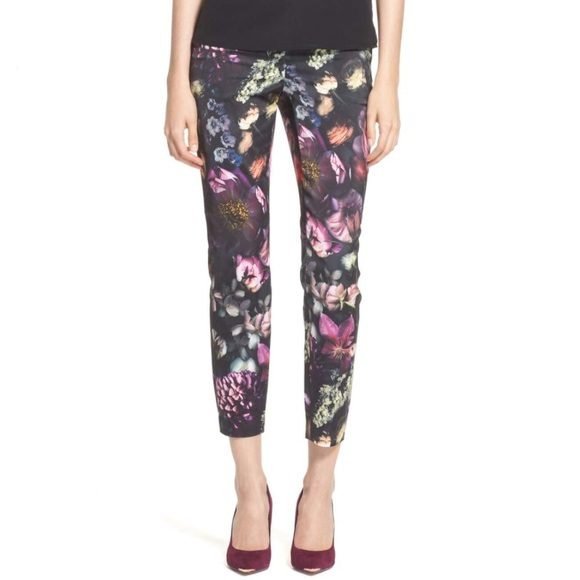 f5e37c50c981 Ted Baker  Anuja  Floral Print Trousers